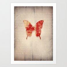 maple & leaf Art Print