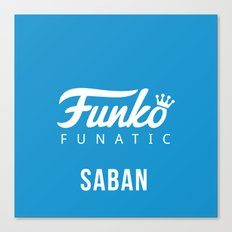 saban Canvas Print