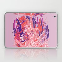 Smash! Zap!! Zooom!! - Big-Boobed Babe Laptop & iPad Skin