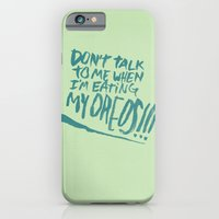 I'M SERIOUS ABOUT OREOS iPhone 6 Slim Case