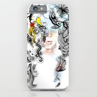 iPhone & iPod Case featuring lined by Irmak Akcadogan
