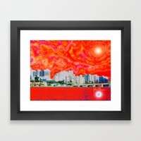 Miami Afternoon 2 Framed Art Print