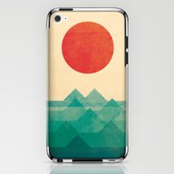 The Ocean, The Sea, The … iPhone & iPod Skin