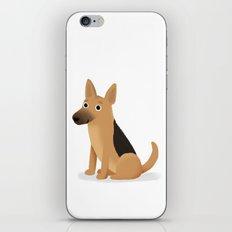 German Shepherd - Cute Dog Series iPhone & iPod Skin