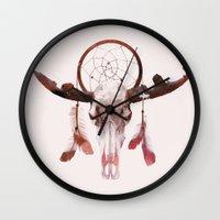 Deadly Desert Wall Clock