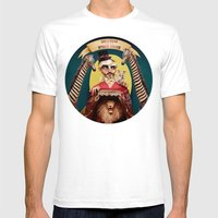 Uncle Edgar and the Hybrid Circus Mens Fitted Tee White SMALL