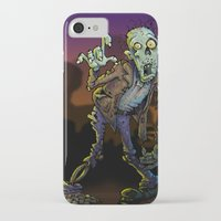 zombie iPhone & iPod Cases featuring ZOMBIE! by Billy Allison