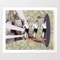 Art Print featuring Escapement by Citron Né