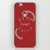 Don't Forget iPhone & iPod Skin