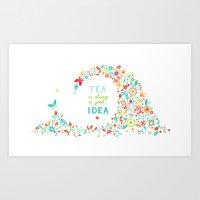 Tea Idea Art Print
