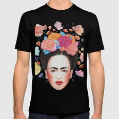 Frida SMALL Black Mens Fitted Tee