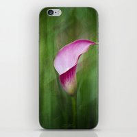 Calla Lily Flow iPhone & iPod Skin