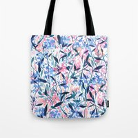 Wandering Wildflowers Bl… Tote Bag