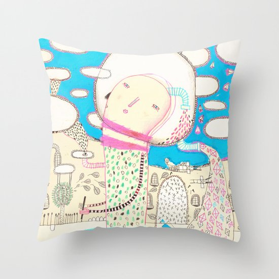 Be led by your dreams Throw Pillow