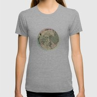 Shape Mesh Womens Fitted Tee Athletic Grey SMALL