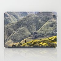 Teraces of Rice iPad Case