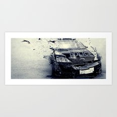 End Of Watch  Art Print