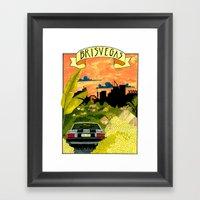 Brisvegas Framed Art Print