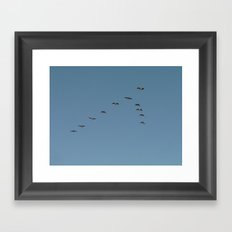 That Way! Framed Art Print
