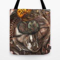 Darwin Meets Orwell Tote Bag