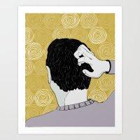 i think... Art Print