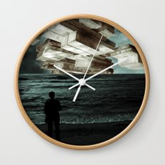Autumn Tryst or, The Architect's Daydream Wall Clock