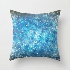 Shimmering Stars Throw Pillow