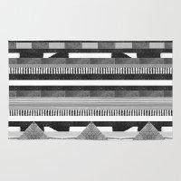 DG Aztec No.2 Monotone Rug