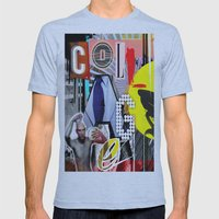 Collage Is More Than Jus… Mens Fitted Tee Athletic Blue SMALL