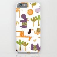 Jungle Animals iPhone 6 Slim Case