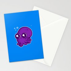 Super Cute Squid Stationery Cards