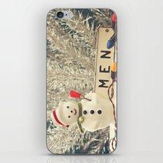 Snowmen iPhone & iPod Skin