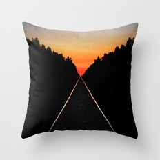 Keep Walking Don't Stop Throw Pillow