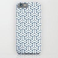 bishamon in monaco blue iPhone 6 Slim Case