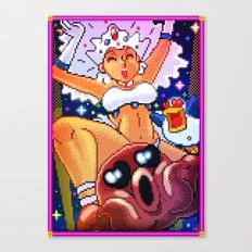 Pixel Art series 16 : Festival Canvas Print