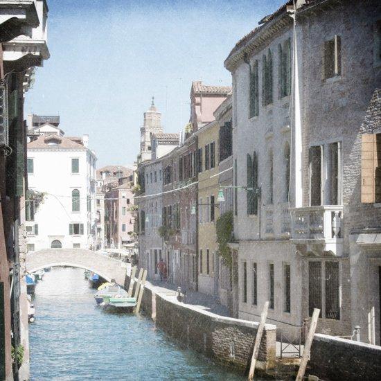 The Side Street - Venice, Italy Art Print