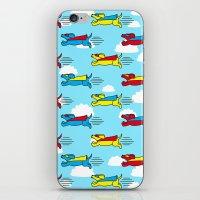 Super Dogs! iPhone & iPod Skin