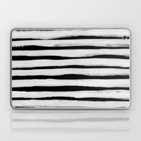 Black And White Stripes … Laptop & iPad Skin