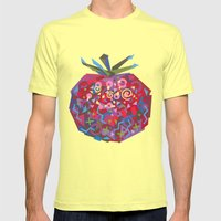 Tomato (Tomate) Mens Fitted Tee Lemon SMALL