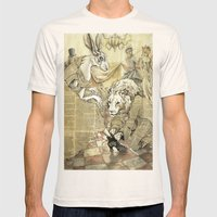 Cinderella Part II Mens Fitted Tee Natural SMALL