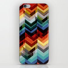 Chevron Multicolour iPhone & iPod Skin