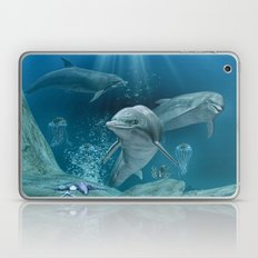 Hello Dolphin Laptop & iPad Skin