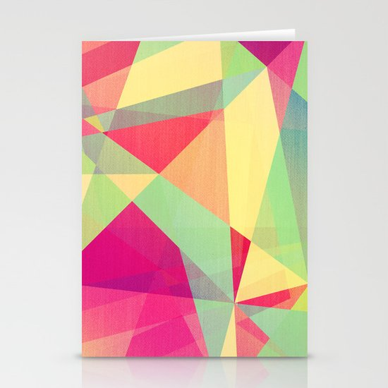 Summer Abstract Stationery Card