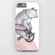 Cycling Bear iPhone 6 Slim Case
