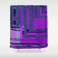 Taintedcanvas159 Shower Curtain