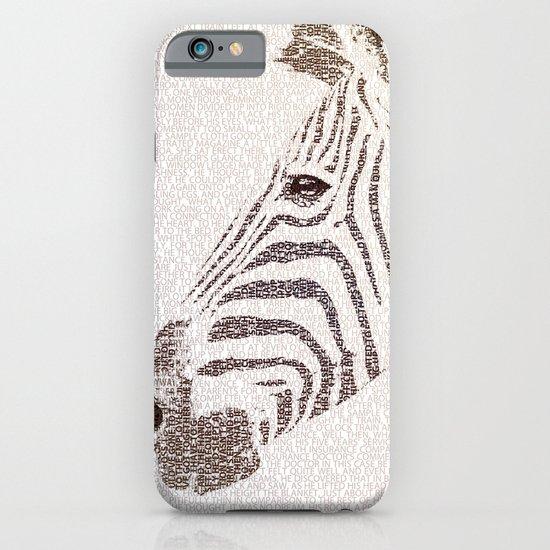The Intellectual Zebra iPhone & iPod Case