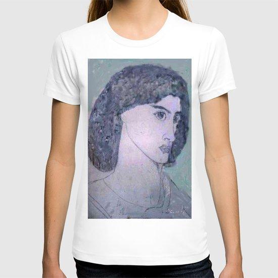 JANE BURDEN STUDY T-shirt