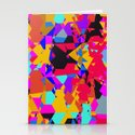 color chaos Stationery Cards