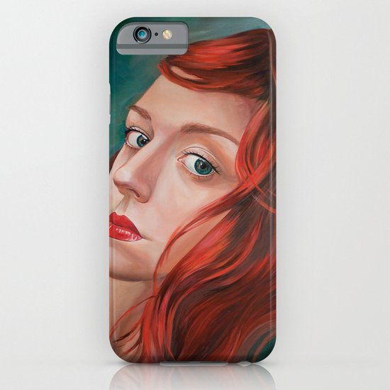 Red-Haired iPhone & iPod Case
