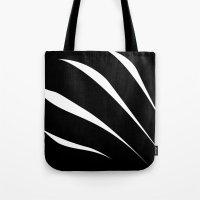 Negative Claw Tote Bag